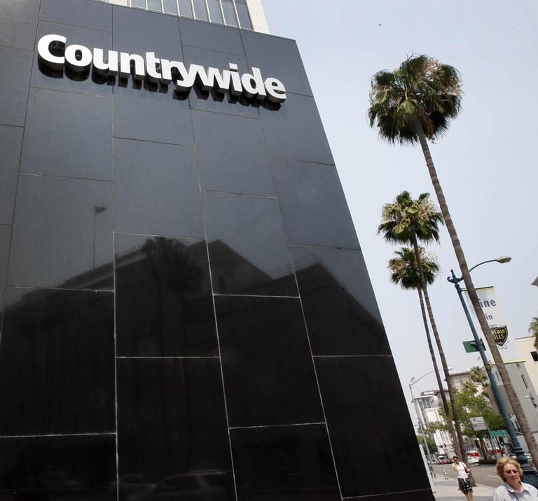 The former Countrywide Financial Corp, whose subprime loans helped start the nation's foreclosure crisis, made hundreds of discount loans to buy influence. (AP)