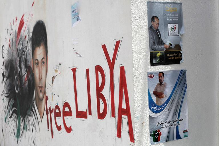 Libyans will vote in the Libyan National Assembly elections, which will take place on Saturday. (AP)