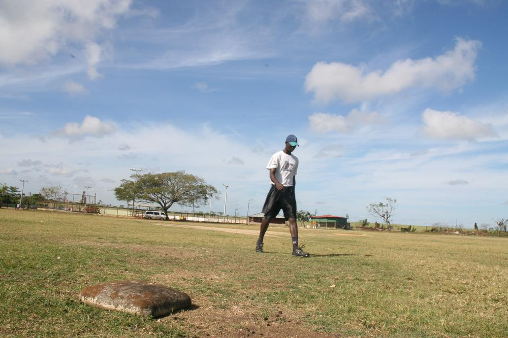 Hardscrabble baseball fields in the Dominican Republic may seem a long way from the major leagues, but the nation is home to one of baseball's top talent pools. (Courtesy of Strand Releasing)