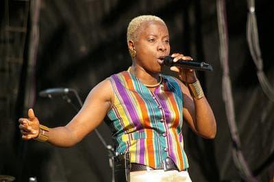 Artist Angelique Kidjo, one of Steve Almond's summer favorites. (Flickr/ActiveSteve)