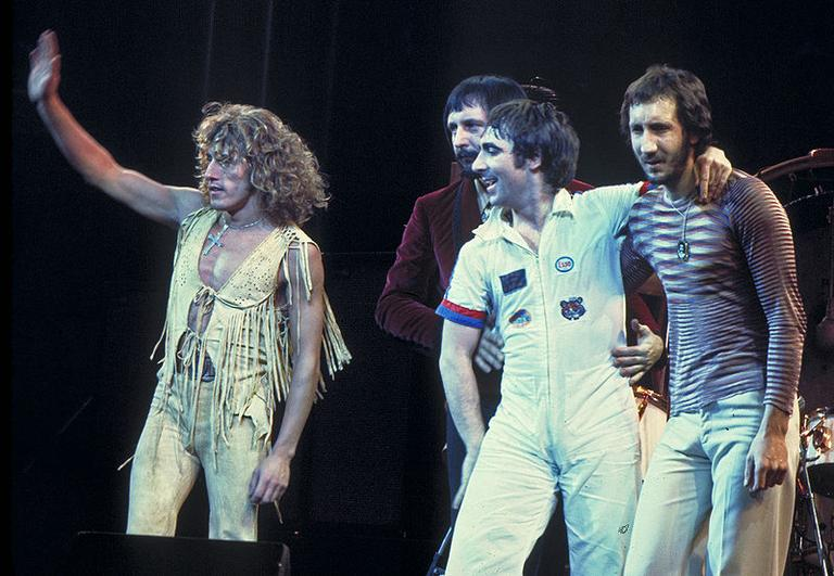The Who in 1975. The band is a summer favorite of Here & Now's Alex Ashlock.