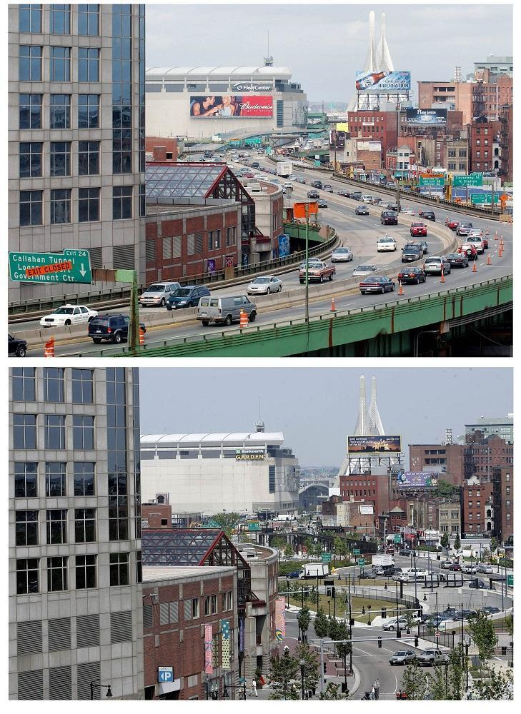 Boston Traffic: Before And After The Big Dig | WBUR News