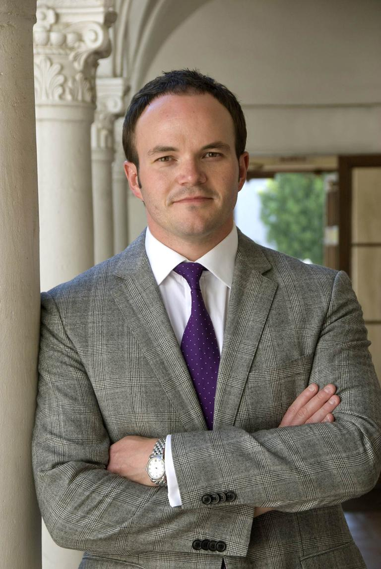 Christopher Bedford is the new director of the Rose Art Museum (Courtesy John Lucas)
