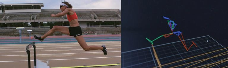 Hurdler Lolo Jones works with a team of coaches and sports technologists to improve her form.