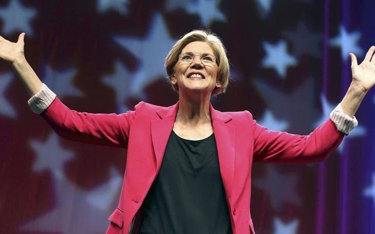 Elizabeth Warren raised over $8.6 million in the last quarter. (AP)