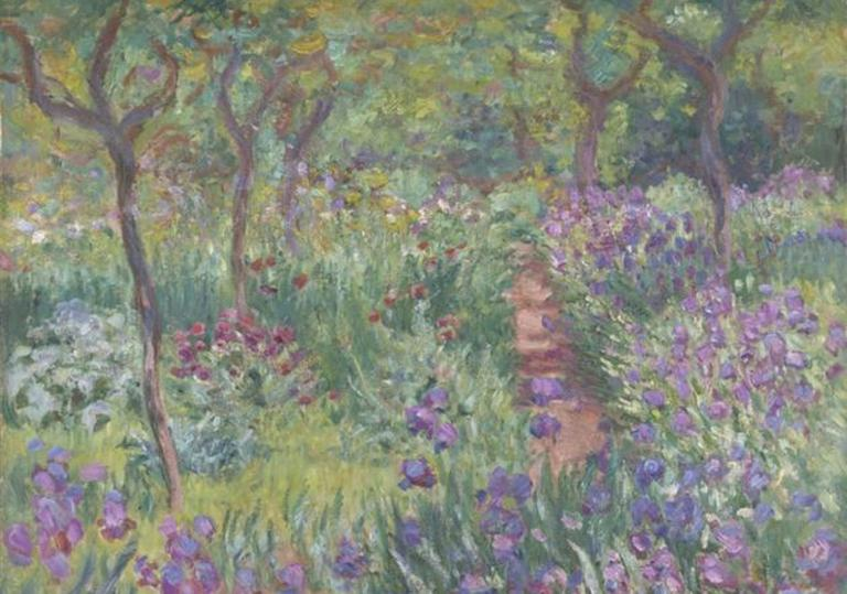 The Artist's Garden at Giverny (Claude Monet)