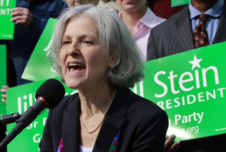 Jill Stein, a medical doctor, is the Green Party's presidential nominee. (AP)
