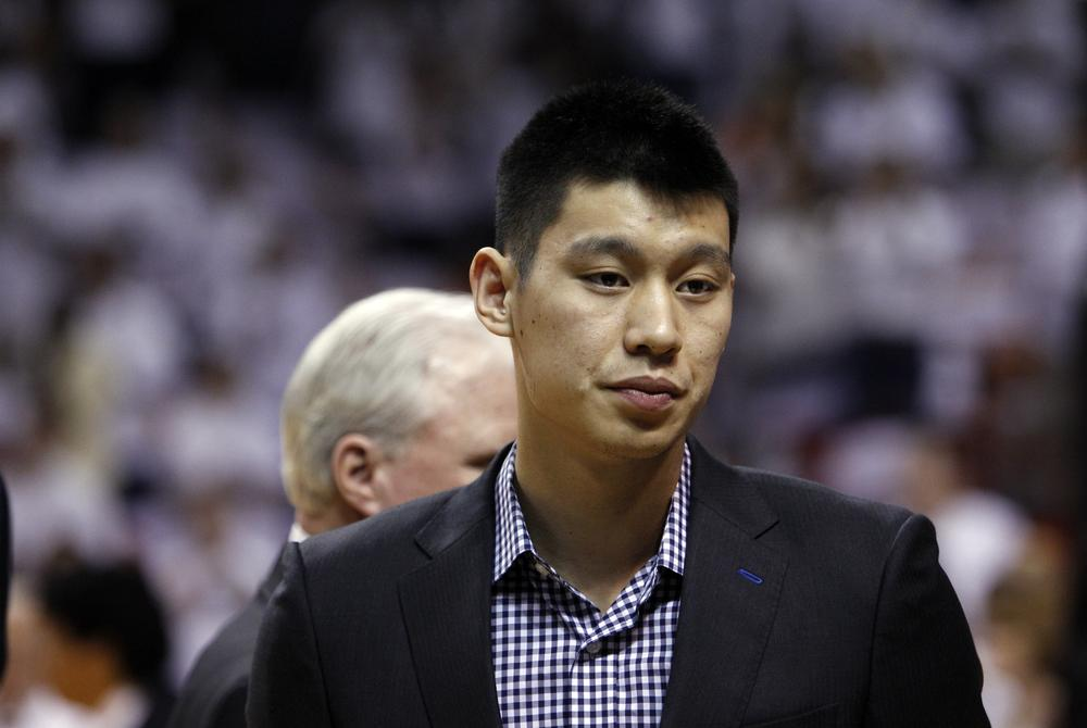 """For all the excitement and wins he brought to the Knicks last season, Jeremy Lin is now a Houston Rocket, bringing an abrupt end to """"Linsanity"""" in Madison Square Garden. (AP)"""
