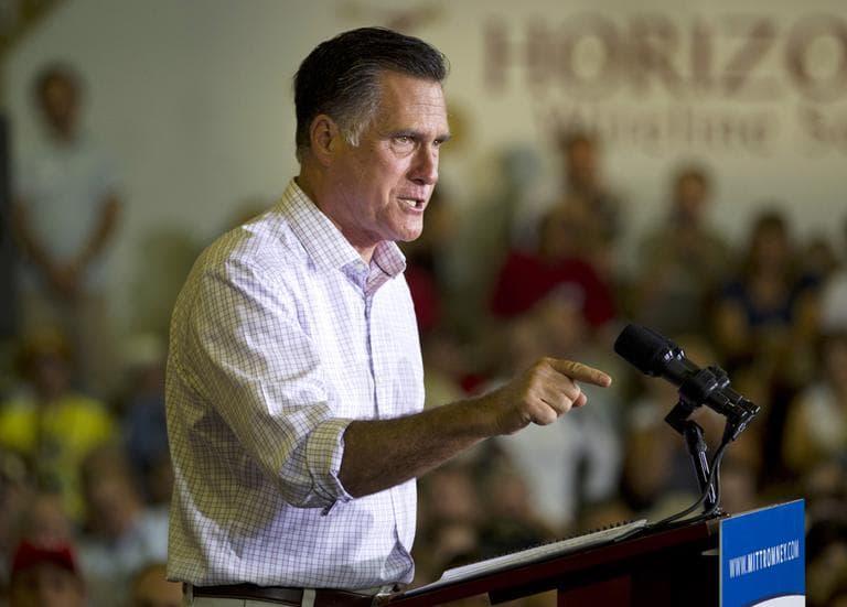 Republican presidential candidate, former Massachusetts Gov. Mitt Romney (AP)