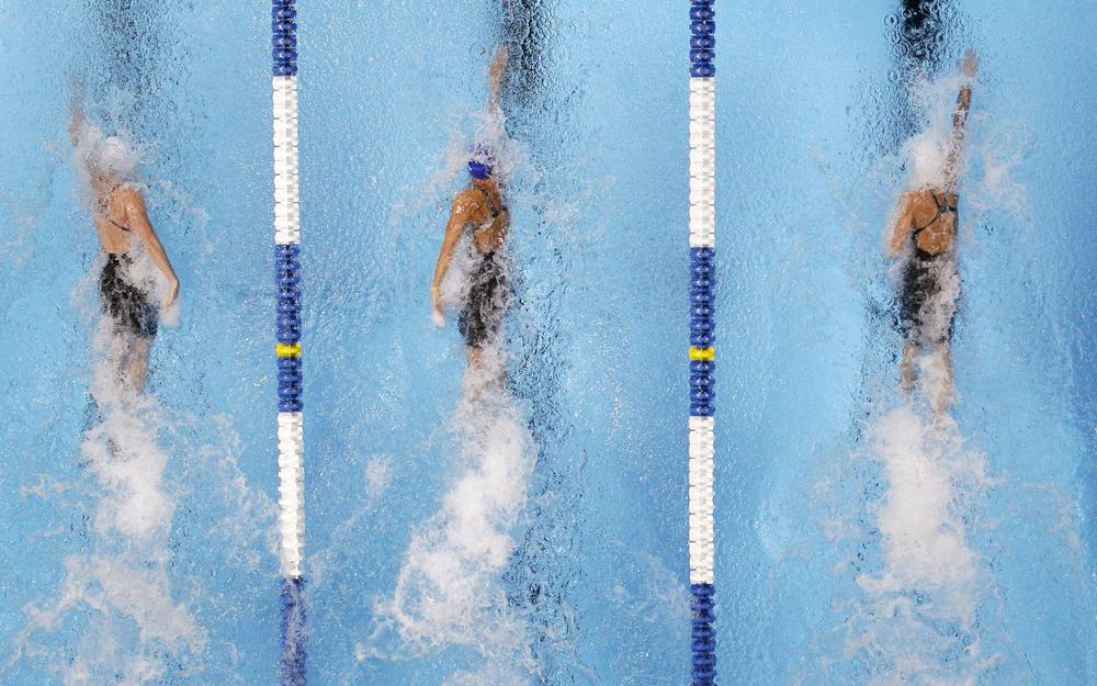 Swimming is one of the most popular sports in the Summer Olympics, but changes have come to both the suits swimmers wear and the pools where they swim. (AP)