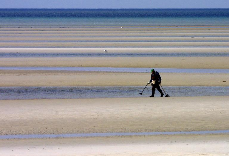 Low tide on Cape Cod (AP)