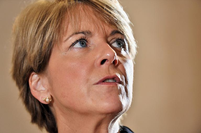 Mass. Attorney General Martha Coakley fined NSTAR today for its delayed response to weather-related power outages. (AP)