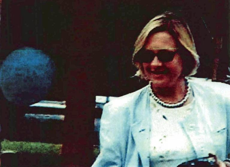 This image, from around 2000, released by the FBI shows a surveillance photo of Tracey Lee Ann Foley of Cambridge, Mass., at the Harvard graduation of Donald Howard Heathfield. Both were in a ring of Russian spies in the U.S. shut down in June of 2010. (AP Photo/FBI)