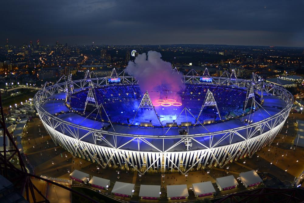 With the London Olympics beginning, the sounds of the Games were present all over the city. (AP)
