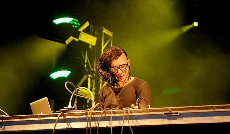 DJ Skrillex. (Photo: Brennan Schnell)