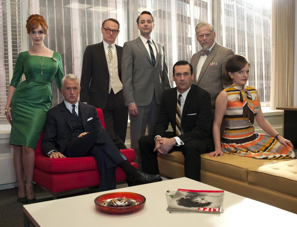 """Mad Men"" is a great TV show. Does that make it greater than a great movie? ( AP Photo/AMC)"