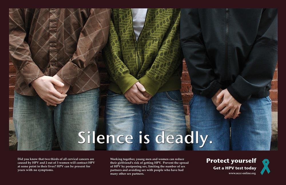 Cervical Cancer awareness PSA (KWDesigns/flickr)