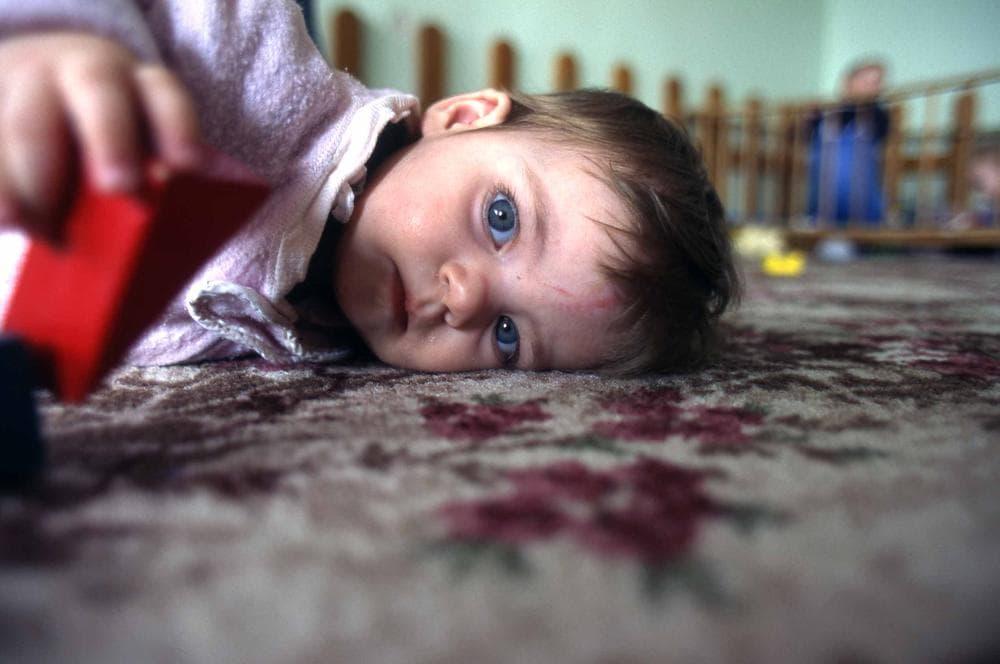A Romanian orphan. (© 2012 Michael Carroll)