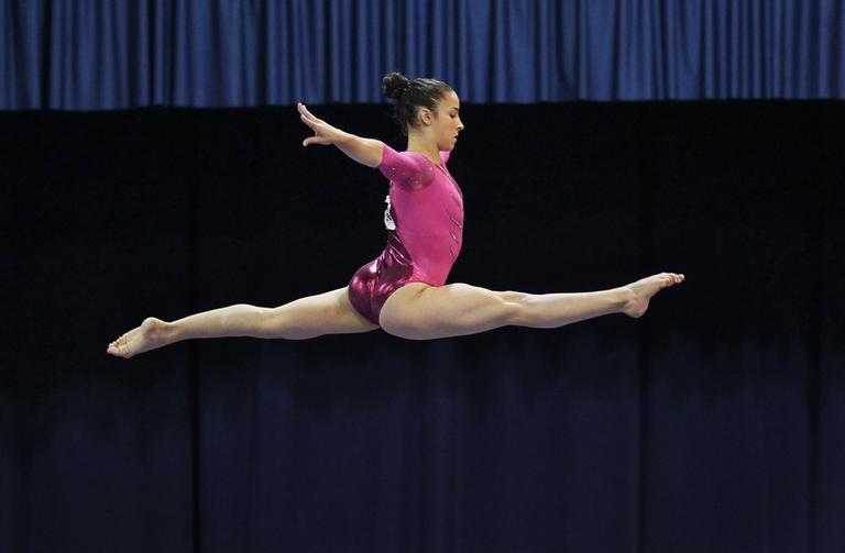 Olympic medalist Aly Raisman  is the captain of the U.S. women's gymnastics team at the 2012 Summer Olympics in London. (AP)