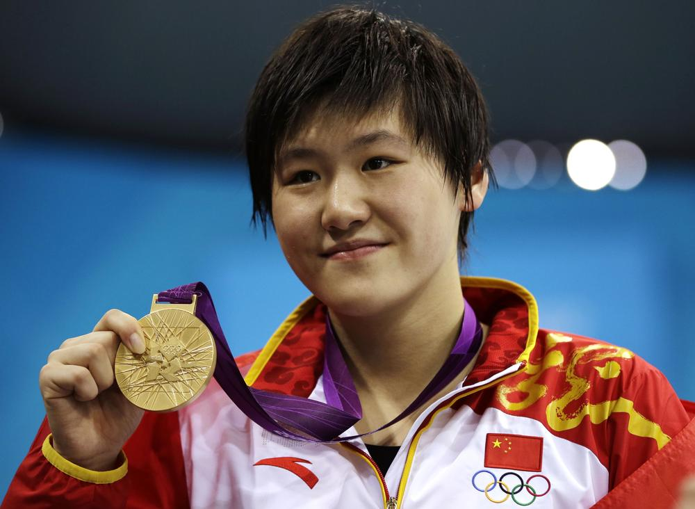 Chinese swimmer Ye Shiwen's performance has drawn criticism. That criticism has drawn ire of its own. (AP)