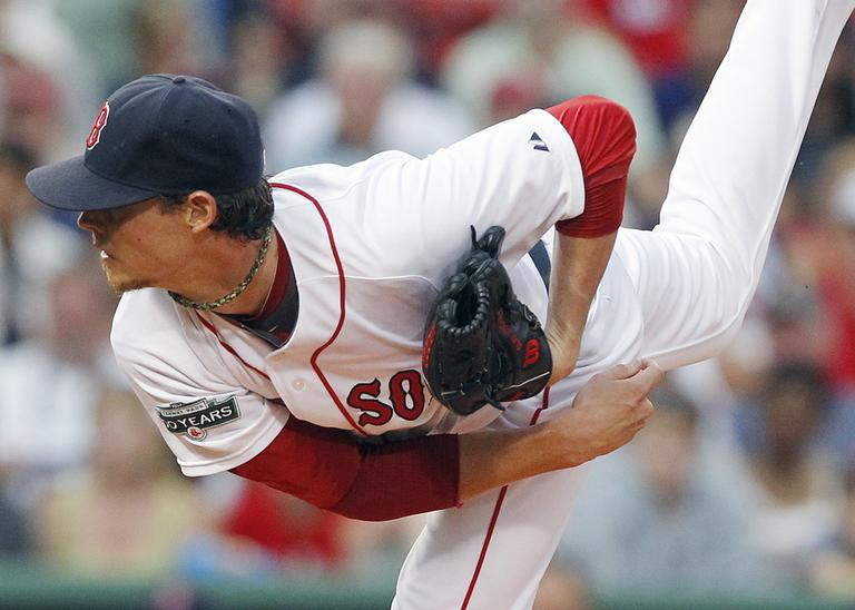 Clay Buchholz gave up one unearned run to the Twins over seven innings Saturday night despite three errors - two by himself, allowing seven hits and striking out three.(AP)