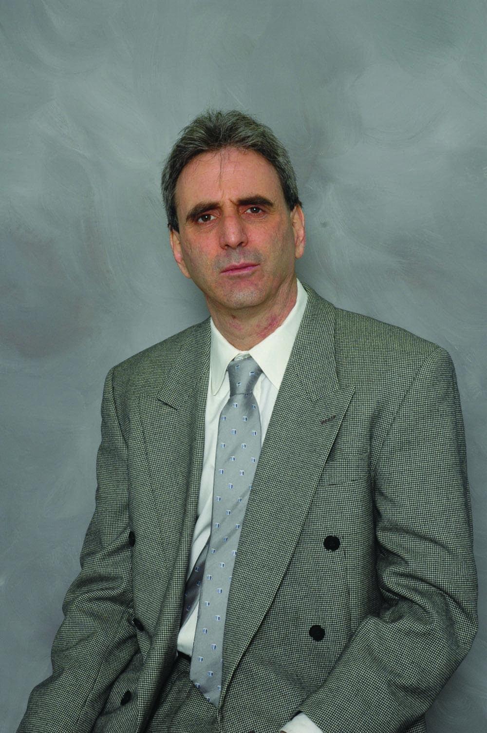 "Dave Zeltserman, author of ""Monster"" (Courtesy of Overlook Press)"