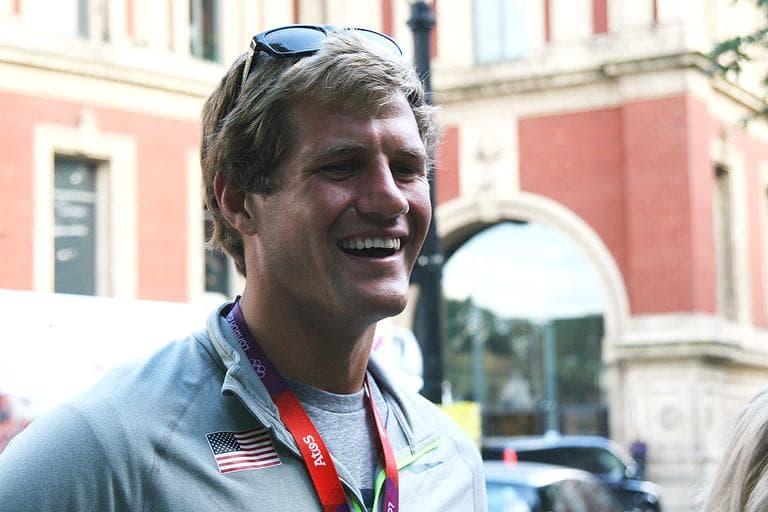U.S. Olympic rower Will Miller (Ashley Lisenby for WBUR)