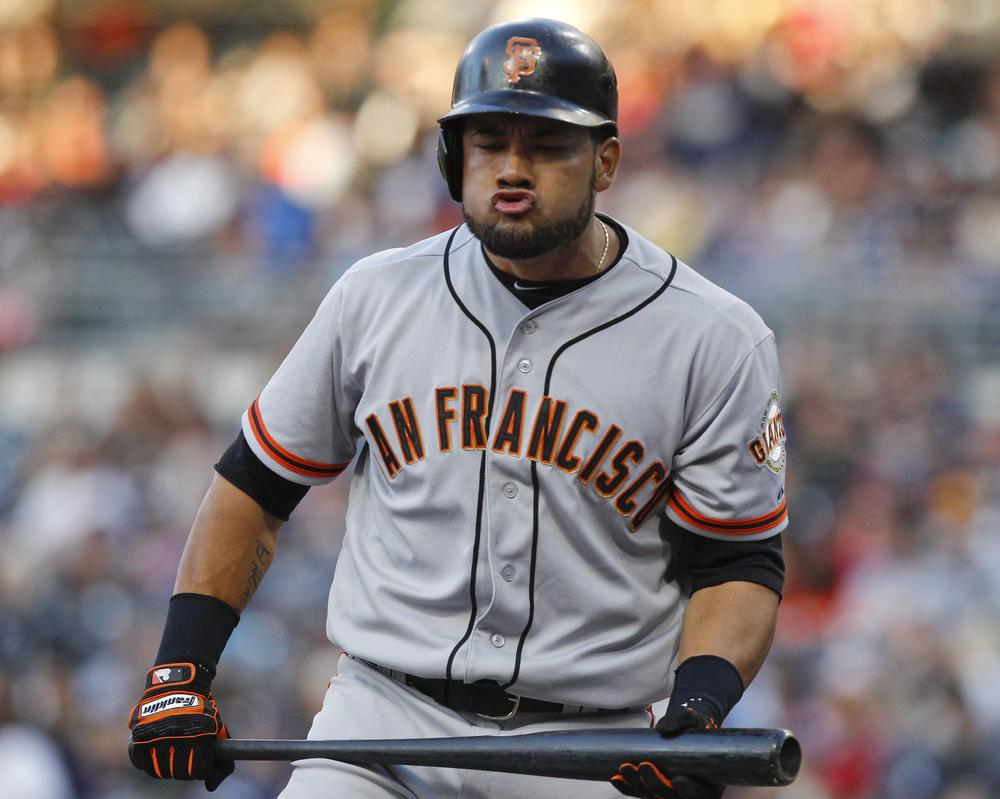 San Francisco Giants outfielder Melky Cabrera, this year's All-Star Game MVP has been suspended for 50 games without pay after testing positive for testosterone. (AP)
