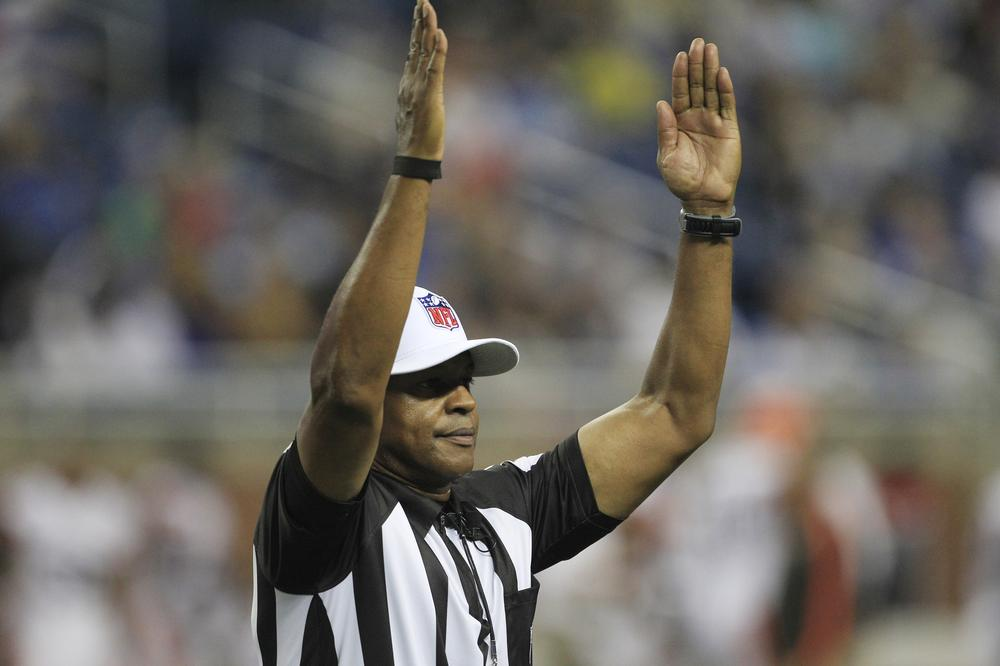 The NFL has been using replacement referees throughout the preseason with mixed reviews. (AP)