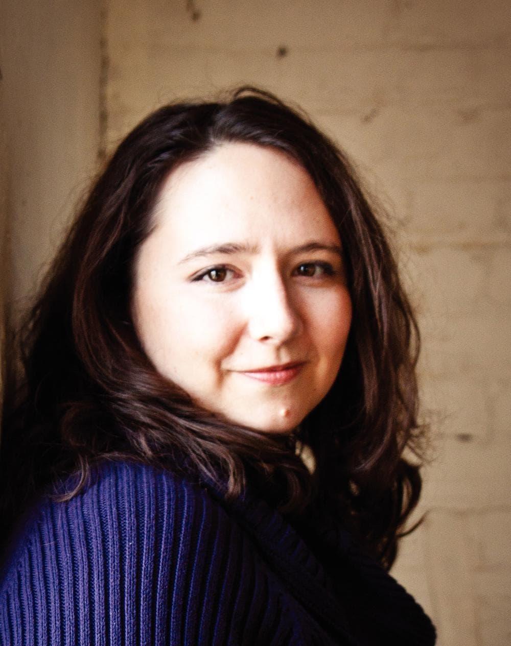 Author Amanda Coplin. (Photo Corina Bernstein)