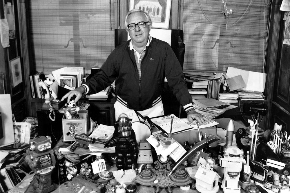 For many writers, including this one, Ray Bradbury was the spiritual father they always wished they'd had. Bradbury, who wrote everything from science-fiction and mystery to humor, died Tuesday, June 5, 2012 in Southern California. (AP File Photo)