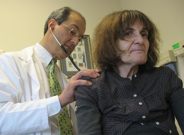 Dr. Joseph Kagan is Beder's longtime primary care doctor. (Martha Bebinger/WBUR)