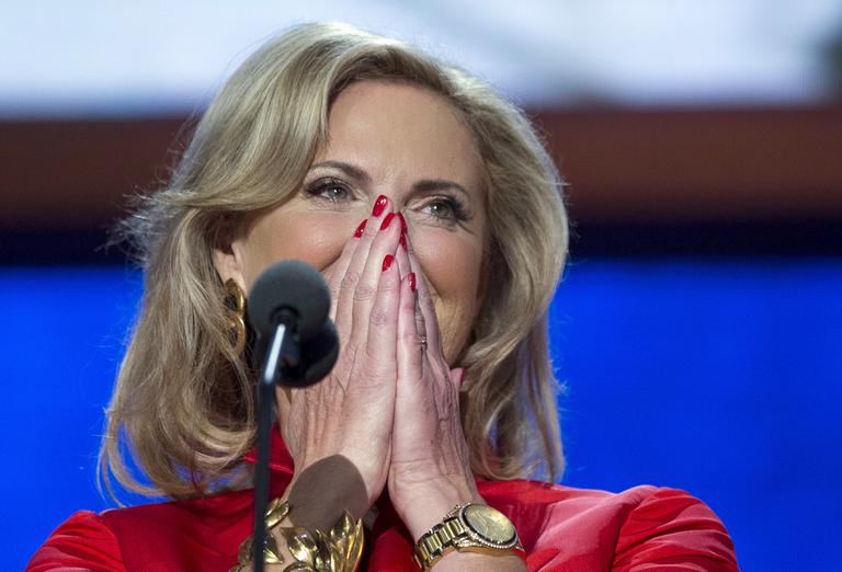 Ann Romney at the RNC Tuesday night. (AP)