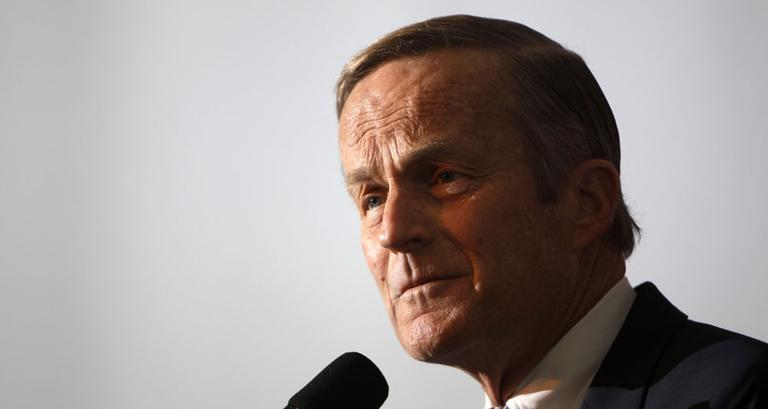 "In this May 17, 2011 file photo, Rep. Todd Akin, R-Mo., announces his candidacy for U.S. Senate. On August 19, Akin said in a TV interview that women's bodies can prevent pregnancies in ""a legitimate rape"" and that conception is rare in such cases. (AP)"