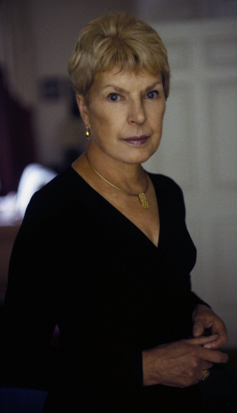 Ruth Rendell (Photo by Jerry Bauer, courtesy of Scribner)