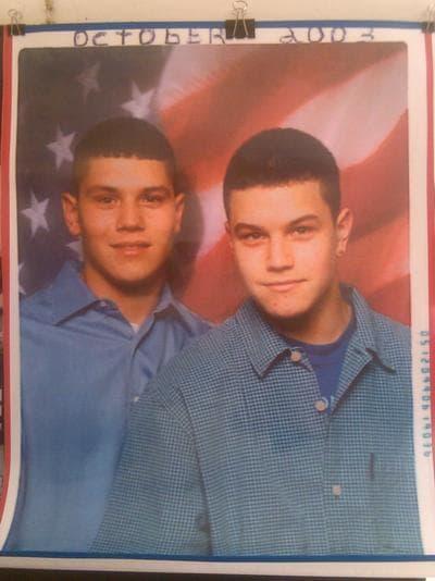 A photo of Alex and Brian. (Courtesy of the Arredondo Family)