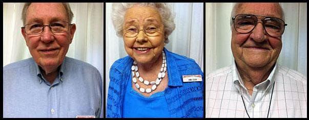 Terrell Sessums, Ann Cook, and Ken McGill (Lisa Tobin/WBUR)