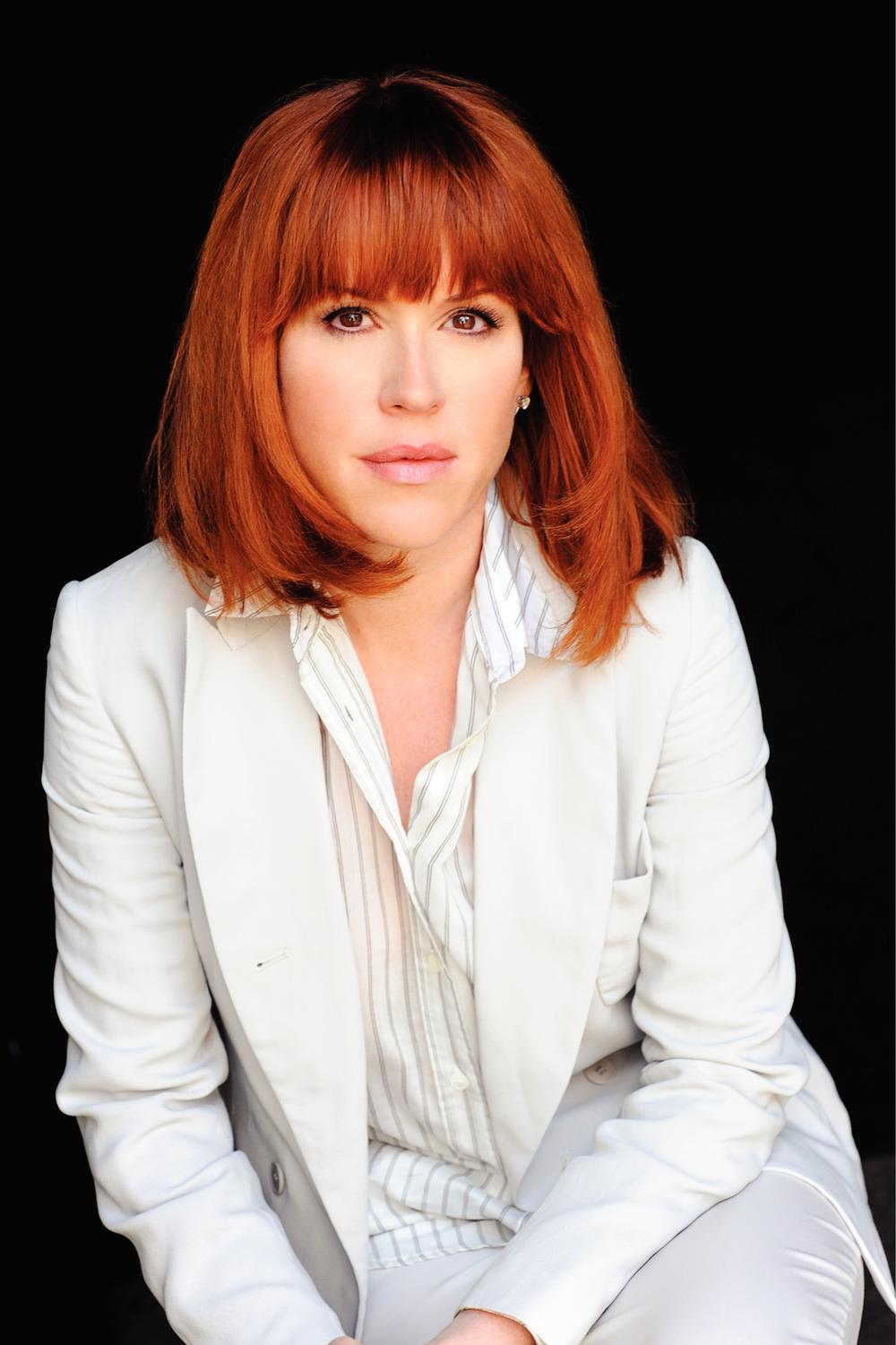 Actress and author Molly Ringwald. (Photo: Fergus Greer)