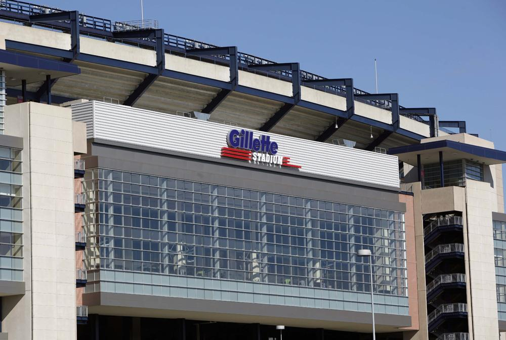 Gillette Stadium, home of the New England Patriots. (AP)