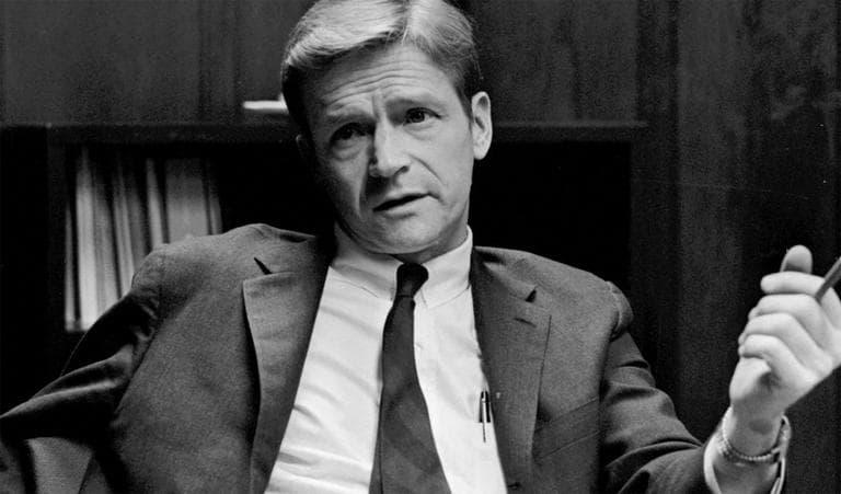 The late John Silber, in 1970 (Courtesy Boston University)