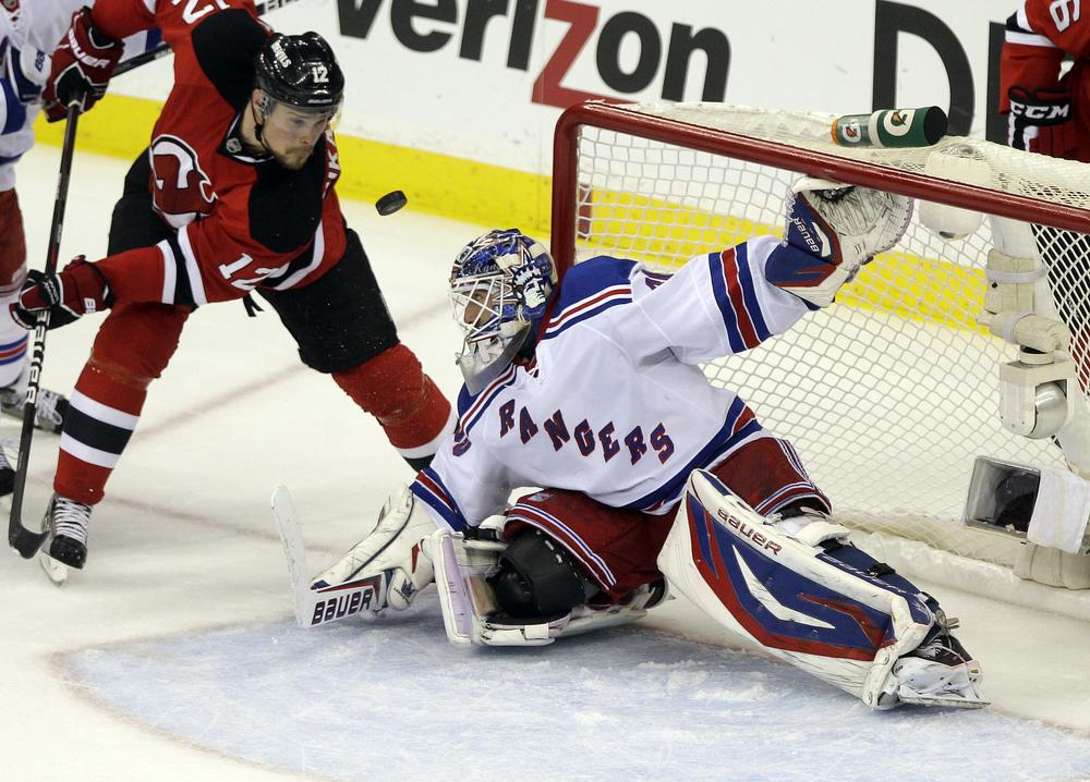 """The NHL lockout may keep the New York Rangers from returning to the ice, and the team's """"ultimate fan,"""" Jake Gittler, from returning to the stands. (AP)"""