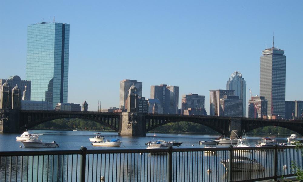 The Boston skyline. (John Stracke/Flickr)