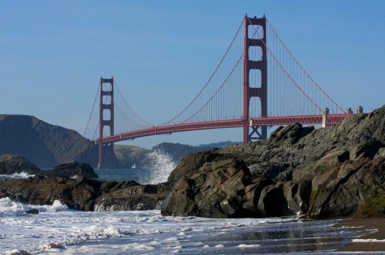 The Golden Gate Bridge in San Francisco. (Alain Picard/Flickr)