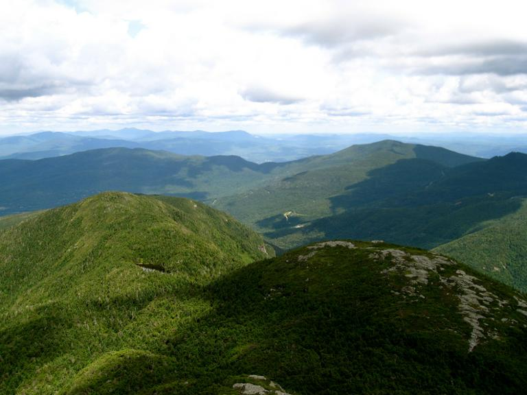 The Green Mountains in Vermont, once considered to be the boundary line for the New England accent. (Compass Points Media/Flickr)
