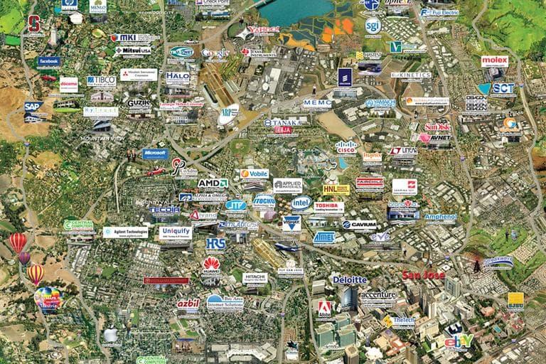 Silicon Valley. (PRNewsFoto)