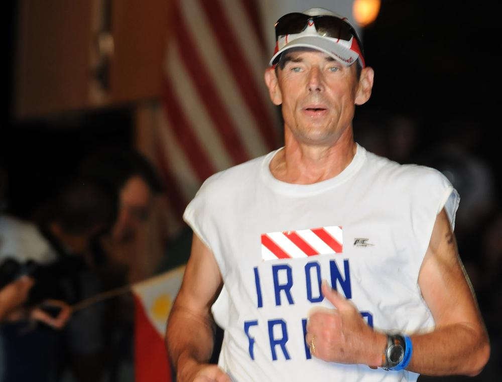 Franciscan Friar Dan Callahan has raised over $100,000 by competing in triathlons and will race the Ironman World Championship in Hawaii this weekend. (Courtesy Photo)