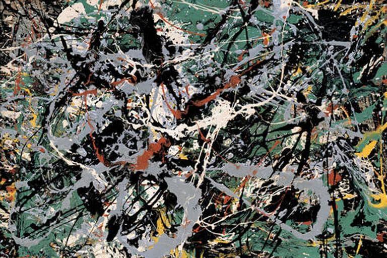 Untitled (Green Silver), ca. 1949. (Jackson Pollock)