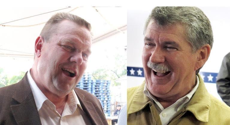 Democratic Sen. Jon Tester (left) is facing Republican Congressman Dennis Rehberg in a tight Senate race in Montana. (AP)