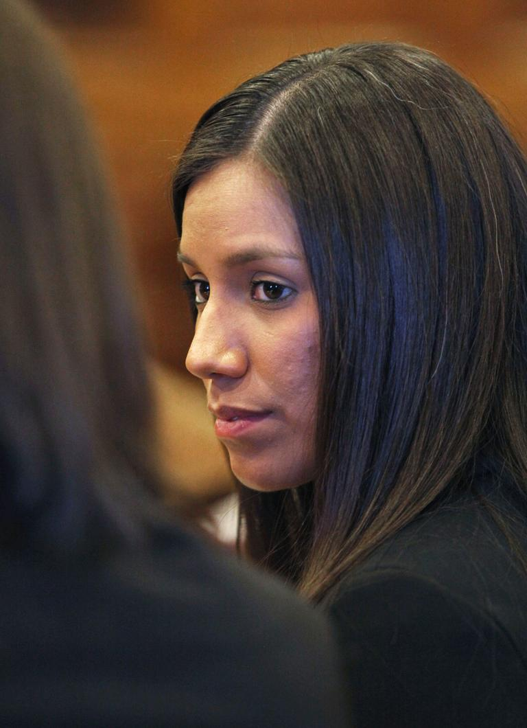 Alexis Wright, 29, during her arraignment last week in Portland. (AP/Joel Page)