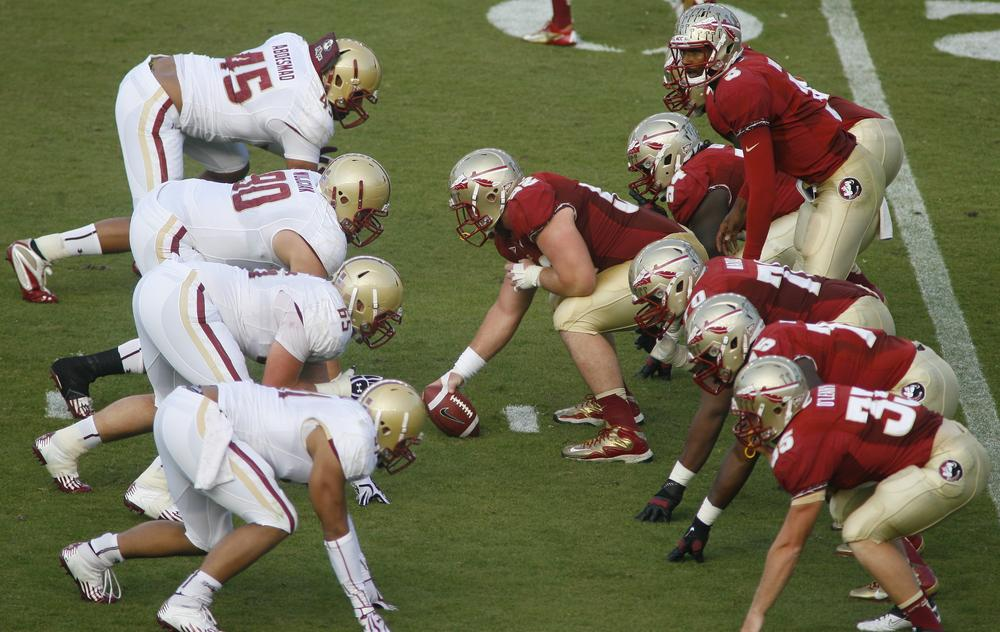 Florida State faces Boston College in Tallahassee, Fla. on Oct. 13. FSU ranks 14 in the BCS. (Phil Sears/AP)
